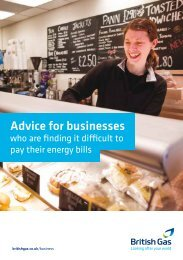 Help and advice on how to manage your energy costs - British Gas