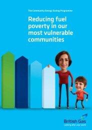 Community Energy Saving Programme - British Gas
