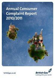 Complaint Report 2010/2011