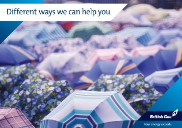 Different ways we can help you