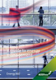 A guide to energy management