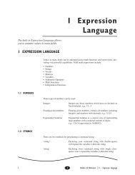 1 Expression Language
