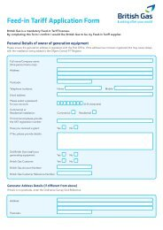 Feed-in Tariff Application Form