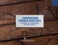 Compassion Church Displays