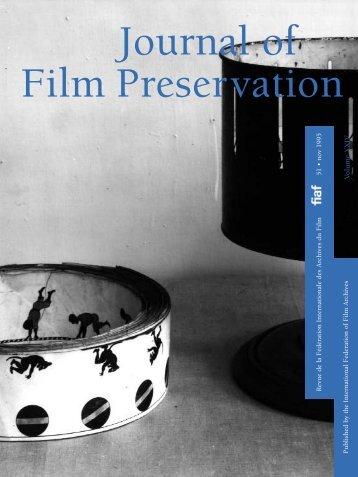 The Sulphur Springs, Texas Early Films Discovery - FIAF