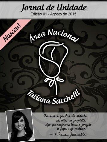 Informativo Área Tatiana Sacchelli Edição Agosto/2015