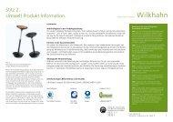 Umwelt Produkt Information. Stitz 2.