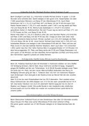 Berichte 2007 Januar bis Juni