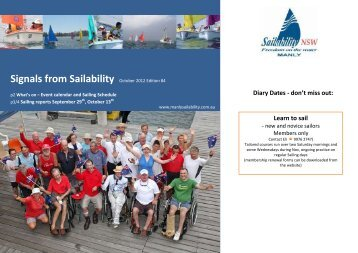 Signals from Sailability