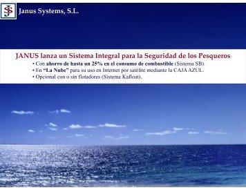 JANUS lanza un Sistema Integral para la Seguridad de los Pesqueros