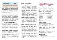 titulaciones del español de los negocios - Costa de Valencia