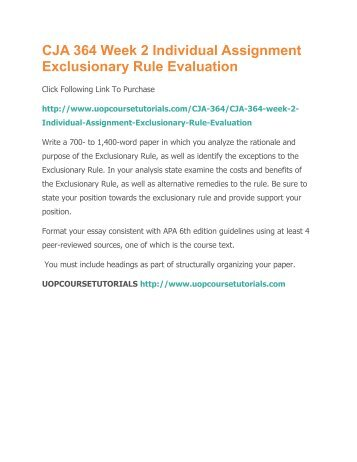 alternatives to the exclusionary rule