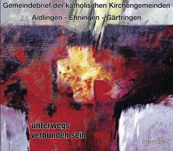 Ostern 2007 - St. Elisabeth Ehningen