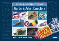 SEOS 2011 Guide and Artist Directory - South East Open Studios