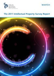 The 2011 Intellectual Property Survey Report