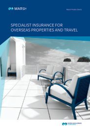 SPECIALIST INSURANCE FOR OVERSEAS PROPERTIES AND TRAVEL