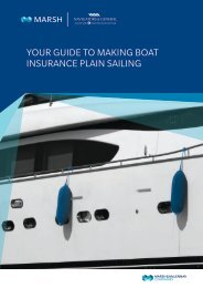YOUR GUIDE TO MAKING BOAT INSURANCE PLAIN SAILING