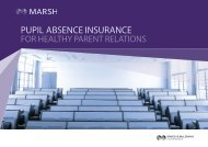 pupil absence insurance