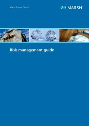 Risk management guide