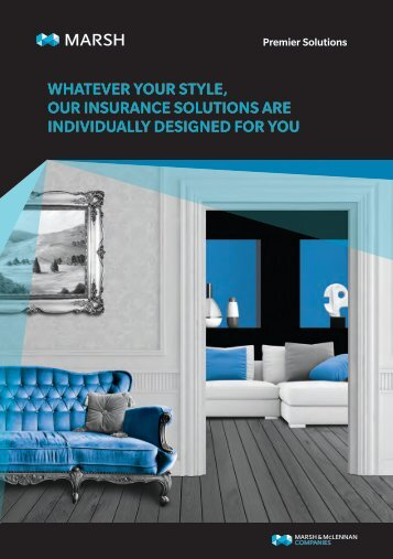 ABOUT MARSH'S PREMIER SOLUTIONS TEAM HOW WE CAN HELP