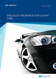 SPECIALIST INSURANCE FOR LUXURY CARS