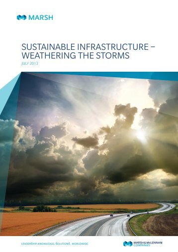 Sustainable Infrastructure – Weathering the storms