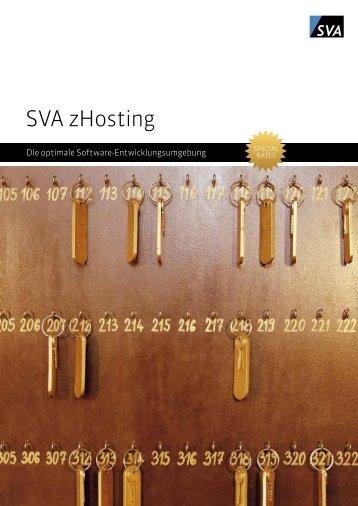 SVA zHosting - SVA System Vertrieb Alexander GmbH