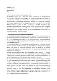 Position Paper for the Economic and Social Council The ... - muimun