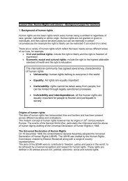 Background information for teachers - Anti-Slavery International