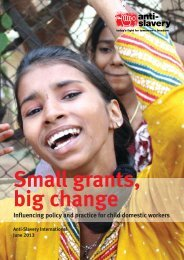 Small grants big change