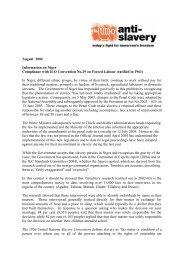 2004niger_forcedlabour.pdf (38.15KB) - Anti-Slavery International