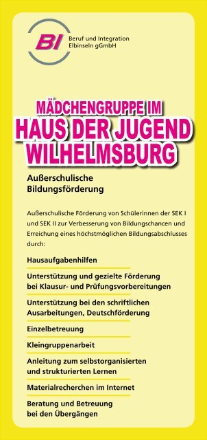 Haus der Jugend Wilhelmsburg