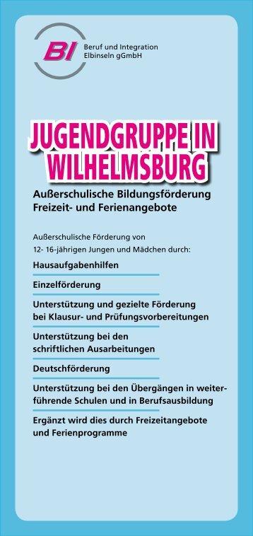 Jugendgruppe in Wilhelmsburg