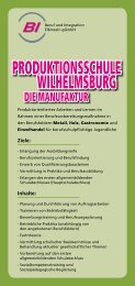 PRODUKTIONSSCHULE WILHELMSBURG