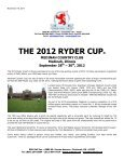 THE 2012 RYDER CUP - Page 2
