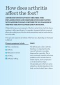 Arthritis and your feet - Page 6