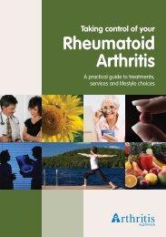 Taking control of your Rheumatoid Arthritis - Arthritis Victoria