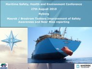 Maritime Safety, Health and Environment Conference 27th ... - MSSM