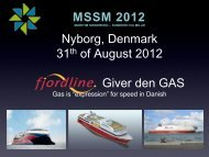 31 of August 2012 Giver den GAS