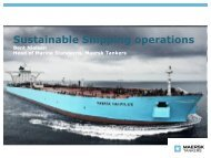 Sustainable Shipping operations