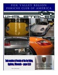 April 2008 - Fox Valley - Porsche Club of America