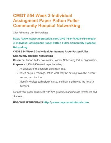 patton fuller community hospital business system Search our directory review the service request pf-001 for patton-fuller community hospital located on current business process summary proposed system.