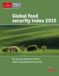 Global food security index 2015