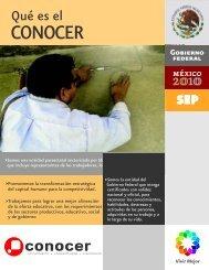 Â¿Que es el CONOCER? - Concanaco