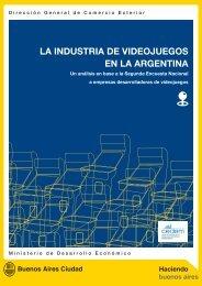 LA INDUSTRIA DE VIDEOJUEGOS EN LA ARGENTINA