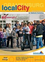 localcity - Ausgabe 02/2011 - Stadtwerke Oranienburg GmbH