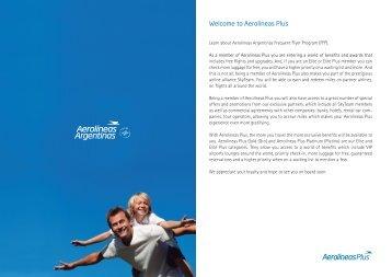 Welcome to Aerolíneas Plus - Aerolineas Argentinas