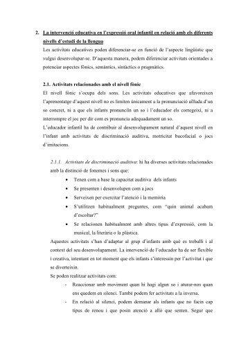 Intervenció en l'Expressió oral - IES Mossèn Alcover