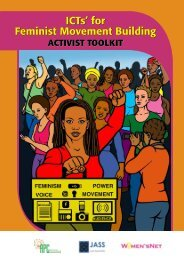 ICT's for Feminist Movement Building