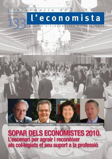 SOPAR DELS ECONOMISTES 2010